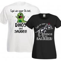 Funshirt oder Tanktop: Egal wie sauer Du bist, Dinos sind Saurier!