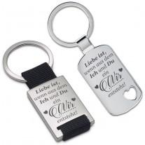 Schlüsselanhänger: Wenn aus dem Ich und Du...