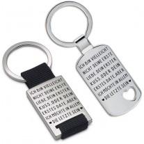 Schlüsselanhänger: Ich bin vielleicht nicht deine erste Liebe....
