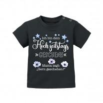 Babyshirt: Ich bin dein Hochzeitstagsgeschenk (Mama sagt...)