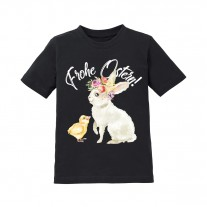 Kinder T-Shirt Modell: Frohe Ostern! (Mädchen)