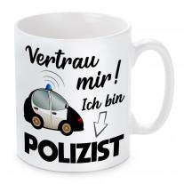 Tasse: Vertrau mir, ich bin Polizist