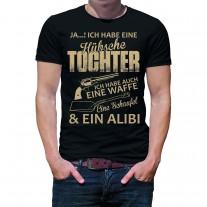Herren T-Shirt Modell: Hübsche Tochter