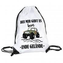 Turnbeutel: Ende Gelände