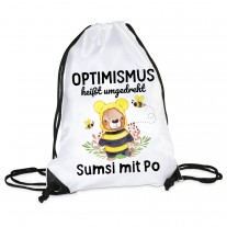 Turnbeutel: Optimismus heißt umgedreht Sumsi mit Po!