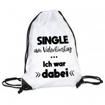 Turnbeutel: Single am Valentinstag