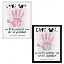 Wandbild: Schützende Hand - Mama (personalisierbar)
