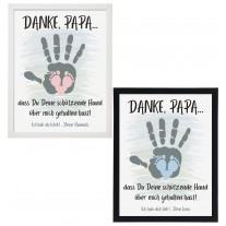 Wandbild: Schützende Hand - Papa (personalisierbar)