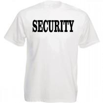 Funshirt weiß oder schwarz - Security
