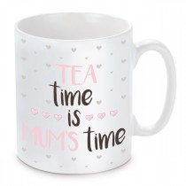 Tasse mit Motiv Modell: Tea time is Mums time