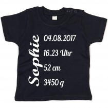 Kinder - Babyshirt Modell: Personalisiert