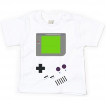 Kinder - Babyshirt Modell: Gameboy
