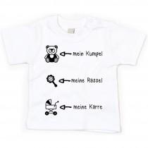 Kinder - Babyshirt Modell: mein Kumpel...