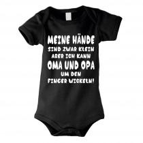 Kinder - Babybody Modell: Oma und Opa um den Finger wickeln