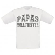 Kinder T-Shirt Modell: Papas Volltreffer