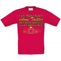 Kinder T-Shirt Modell: Viele Mütter haben schöne Töchter