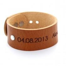 Geburtsschmuck Armband - large - mit Monatsstein