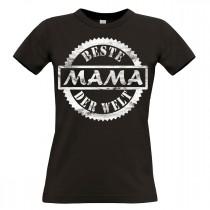 Damen T-Shirt Modell: Beste Mama der Welt