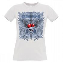 Damen T-Shirt Modell: Make Love not War