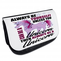 Kosmetiktasche - Kulturbeutel - Schminktasche Modell: Always be yourself