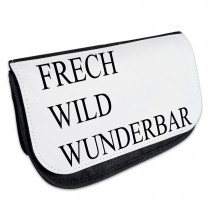 Kosmetiktasche - Kulturbeutel - Schminktasche Modell: frech, wild, wunderbar