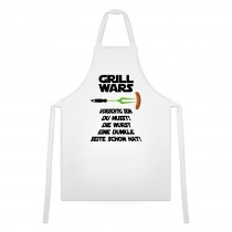 Grillschürze mit Motiv - Modell: Grill Wars