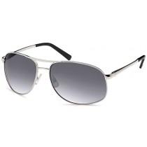 Sonnenbrille - Farbe silber, Scheibe dkl. grau