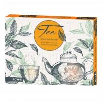 Tee-Adventskalender - 24 Bio-Teebeutel