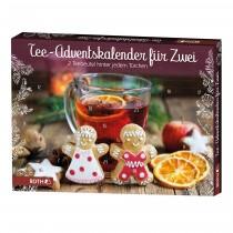 Tee-Adventskalender für Zwei - 24x 2 Bio-Teebeutel