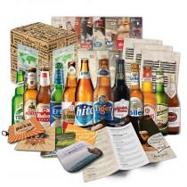 Bier-Geschenkbox mit 12 edlen Bieren aus aller Welt