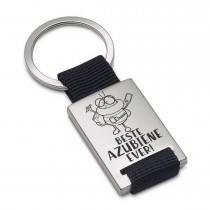Metall Schlüsselanhänger Modell: Beste Azubiene ever!