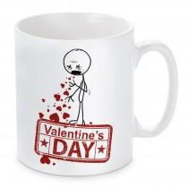 Tasse: Valentine's Day - Würg!