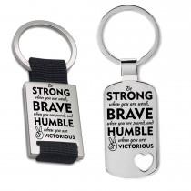 Schlüsselanhänger: Be strong
