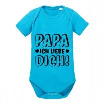 Babybody Modell: Papa ich liebe dich!