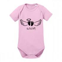 Babybody - BABY ANGEL (personalisierbar)