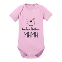 Babybody - Modell: Locker bleiben Mama.