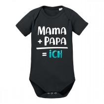 Babybody - Modell: Mama+Papa=ich