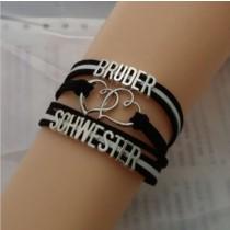 Armband - Bruder / Schwester