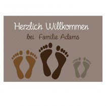 Fußmatte - Modell: Herzlich Willkommen