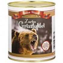 Grizzlyfilet aus der Dose