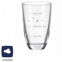 """Leonardo GIN-Glas """"Guter Tag! Schlechter Tag! Frag nicht!"""""""