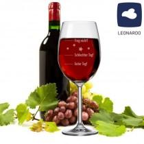 """LEONARDO Weinglas XXL """"Guter Tag! - Schlechter Tag! - Frag nicht!"""" Jumbo"""