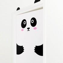 Wandtattoo/Türaufkleber Panda