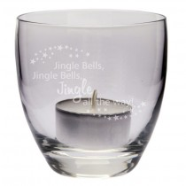"Teelicht ""Jingle Bells"""