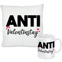 Kissen oder Tasse: Anti-Valentinstag