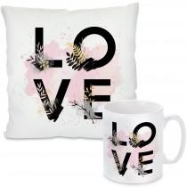 Kissen oder Tasse: LOVE