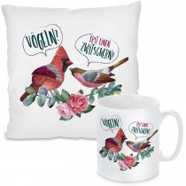 Kissen oder Tasse: Vögeln? - Erst einen zwitschern!