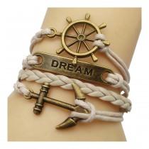 Unendlichkeits Armband Modell: Dream - beige