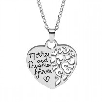 Halskette silberfarben Modell: Mother & Daughter forever