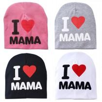 Baby / Kindermütze - I love Mama – Farbauswahl